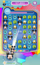 Disney Emoji Blitz Android The Mickey emoji matches add to the power-up meter at the bottom.