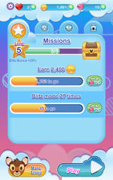 Disney Emoji Blitz Android Progress for the missions