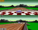 XTreme Racing Amiga Single player race
