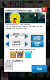 Ghostbusters: Slime City Android Edit Contracts before starting the mission.