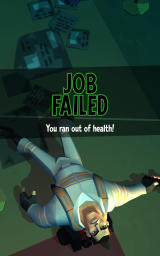Ghostbusters: Slime City Android All health is gold: Game Over