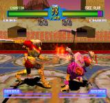 Battle Arena Toshinden 2 plus PlayStation Duke vs Chaos.