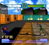 Battle Arena Toshinden 2 plus PlayStation Kayin vs Tracy. Oops...