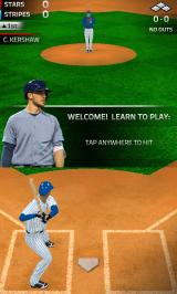 Tap Sports Baseball '16 Android Start of tutorial