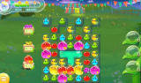 Farm Heroes Super Saga Android All needed cropsies have been collected with two moves left (Dutch version).
