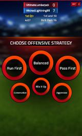 Tap Sports Football Android Strategy selection