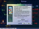 Card Games: Hoyle 2004 Edition Windows After creating a player id there are a couple of simple setup options. This one controls the behaviour of the AI opponents, the next controls the animations and toggle music on/off