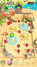 Angry Birds: Action! Android Beach level.