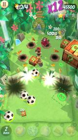 Angry Birds: Action! Android Jungle level.