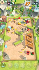 Angry Birds: Action! Android Mountain level.
