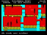 Travel with Trashman ZX Spectrum Sao Paolo. I'm not sure what this scenario has to do with Brazil.