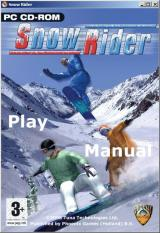 Snow Rider Windows Once installed the game is run from either the desktop icon of the Windows START menu. This is the title screen