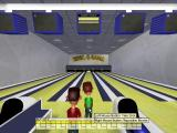 Arcade Bowling Windows The start of a game at the Bowl-O-Rama