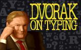 Dvorak on Typing DOS Title Screen.