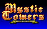 Mystic Towers DOS Title