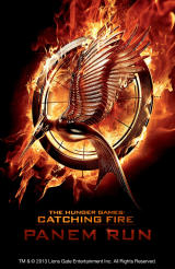 The Hunger Games: Catching Fire - Panem Run Android Title screen