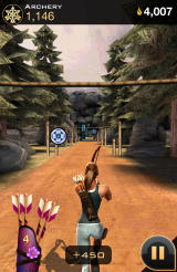 The Hunger Games: Catching Fire - Panem Run Android Archery sequence