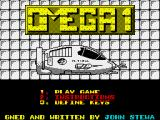 Omega One ZX Spectrum Title screen