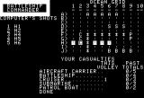 Battleship Commander Apple II Computer manages a hit