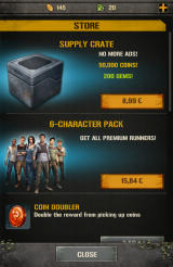 The Maze Runner Android Purchases in the store