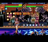 Teenage Mutant Ninja Turtles: Tournament Fighters SNES Aska wins!