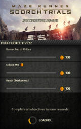 Maze Runner: The Scorch Trials Android Progress for the objectives