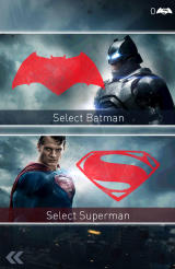Batman v Superman: Who Will Win Android Choose between Batman and Superman to start a run.