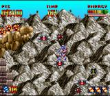 Super Turrican SNES Looking for secret stuff in the first area of the game