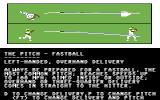 Dave Winfield's Batter Up! Commodore 64 Pitch lesson