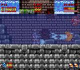 Super Turrican SNES Turrican can also shoot underwater