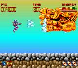 Super Turrican SNES Turrican fans should be familiar with the iron fist