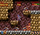 Super Turrican SNES These little guys can be destroyed by jumping on them in Super Mario-fashion