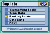 International Superstar Soccer Game Boy Advance Cup Info.