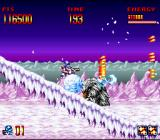 Super Turrican SNES These annoying mammoths are pushing those annoying snowballs