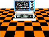 Speed Racer TRS-80 CoCo Title screen