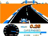 Speed Racer TRS-80 CoCo Bend coming up