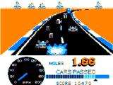 Speed Racer TRS-80 CoCo Crashing