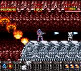 Super Turrican SNES A self-scrolling stage