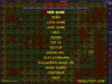 PacDoom III: Halloween Party Windows Main menu