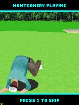 Pro Golf 2007 3D feat. Vijay Singh J2ME Montgomery being emotional