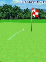Pro Golf 2007 3D feat. Vijay Singh J2ME Very close to the flag