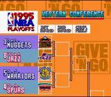 NBA Give 'n Go SNES Team selection