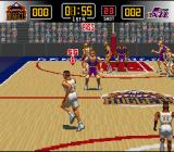 NBA Give 'n Go SNES The match begins