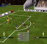 adidas Power Soccer 98 PlayStation Free kick.