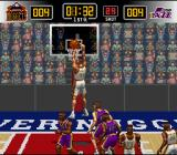NBA Give 'n Go SNES Nice dunking