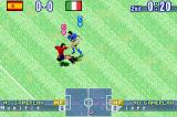 International Superstar Soccer Game Boy Advance Being violent.