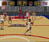 NBA Give 'n Go SNES Attacking