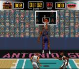 NBA Give 'n Go SNES Another dunking