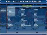 NHL Eastside Hockey Manager Windows The player can play in just about any ice hockey league on any continent.