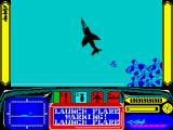 Harrier 7 ZX Spectrum No time for pussies, flares my arse... turret destroyed...
